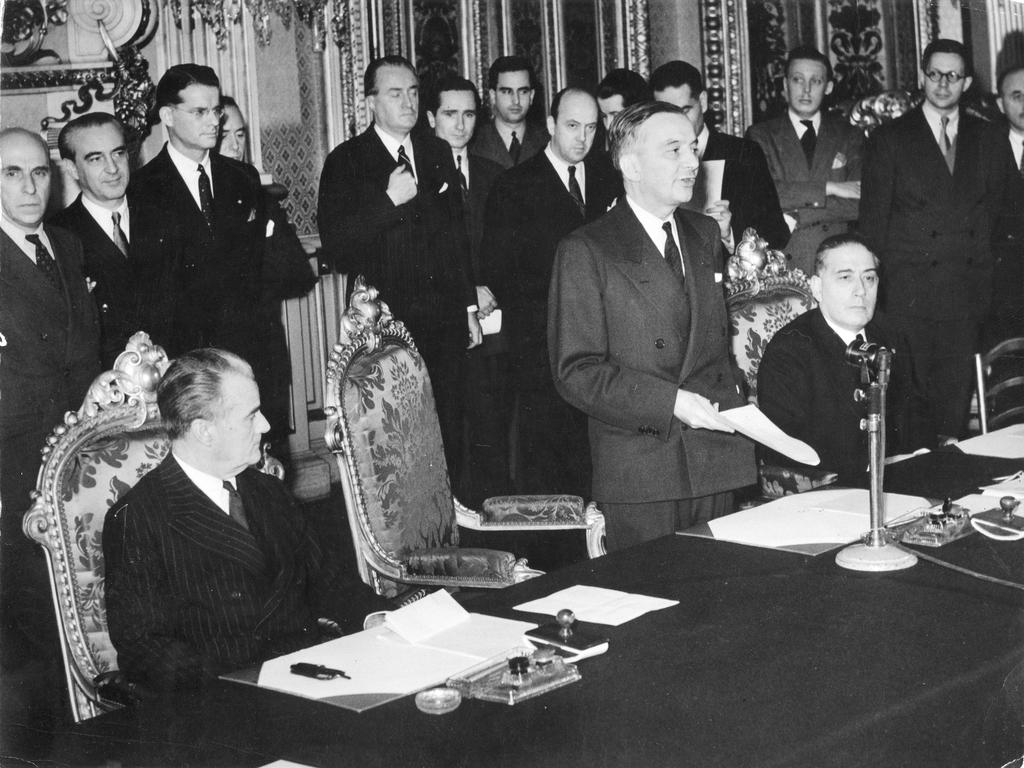 Agreement for financial aid granted by the US to France (Paris, 28 June 1948)