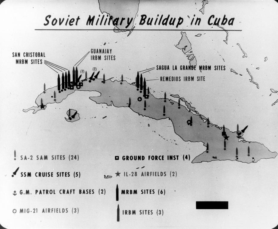 a history of the cuban missile crisis of october 1962 The cuban missile crisis of october 1962 was a direct and dangerous  confrontation between the united states and the soviet union during the.