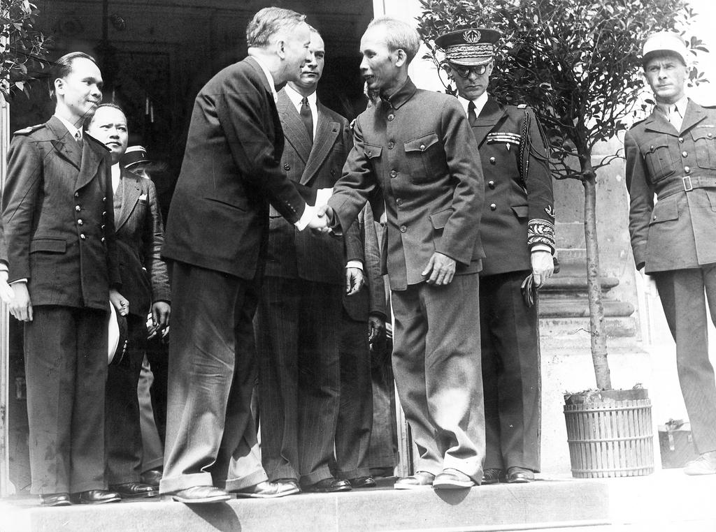 Official visit of Ho Chi Minh to France (2 July 1946)