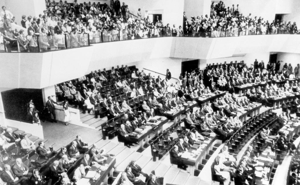 Final stage of the Conference on Security and Cooperation in Europe (Helsinki, 30 July–1 August 1975)