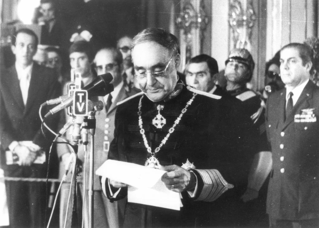 Swearing-in of António de Spínola (Lisbon, 15 May 1974)
