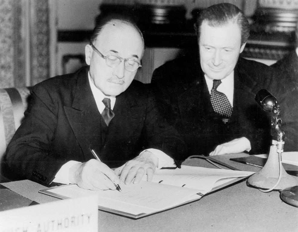 Association agreement between the ECSC and the United Kingdom (21 December 1954)