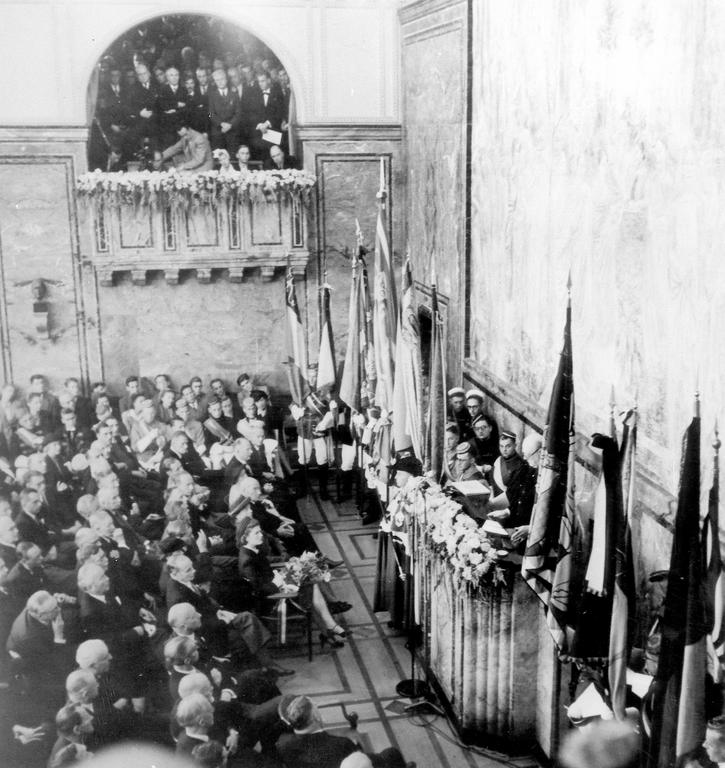 The Zurich address (Zurich, 19 September 1946)