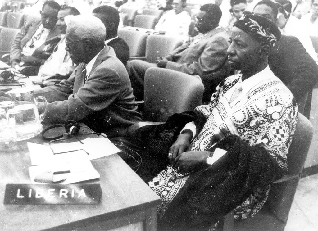 The Liberian Delegation at the Bandung Conference (18 to 24 April 1955)