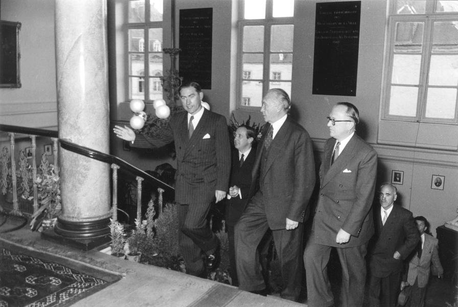 First meeting of the ECSC Special Council of Ministers (Luxembourg, 8 September 1952)
