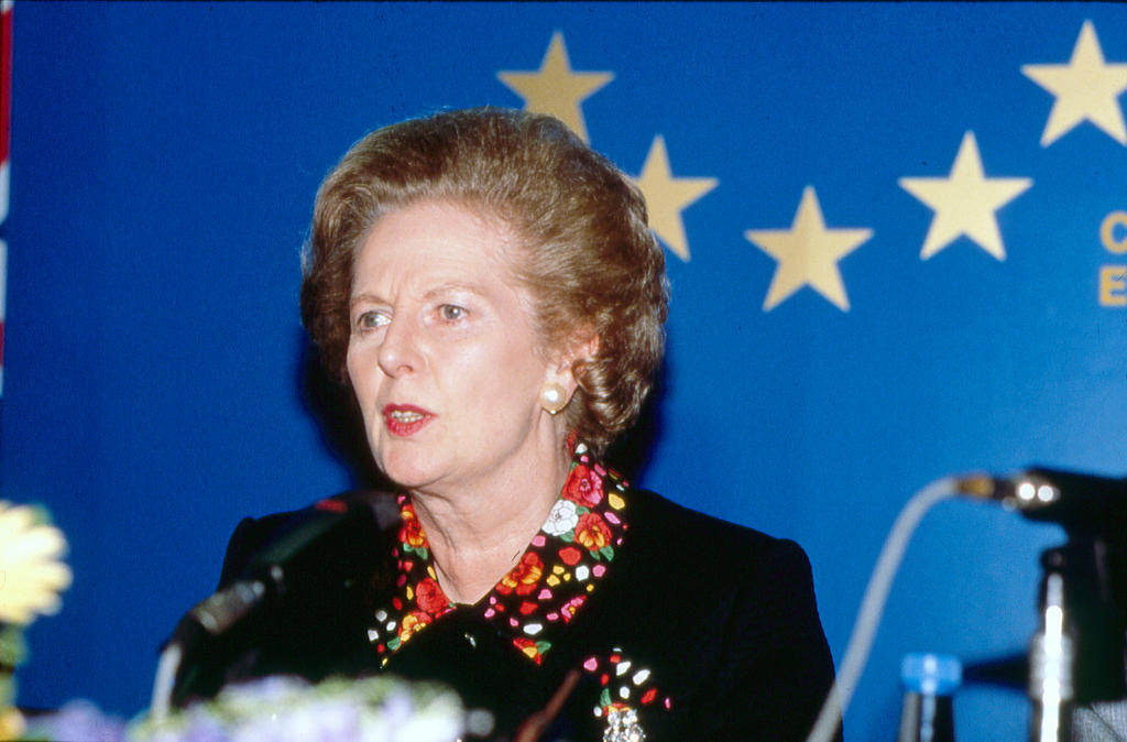 Press conference held by Margaret Thatcher at the Madrid European Council (27 June 1989)