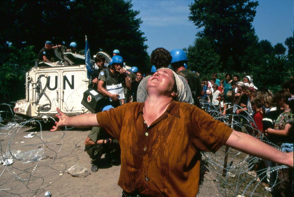 Refugees from Srebrenica (Tuzla, 13–15 July 1995)