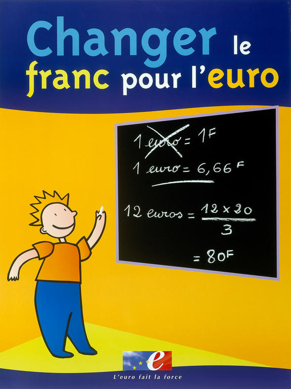 French information campaign on the change-over to the euro