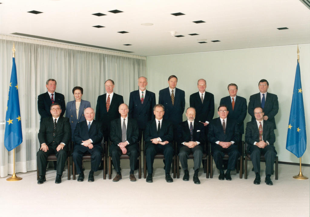 The Members from 1 January 1996 to 29 February 2000