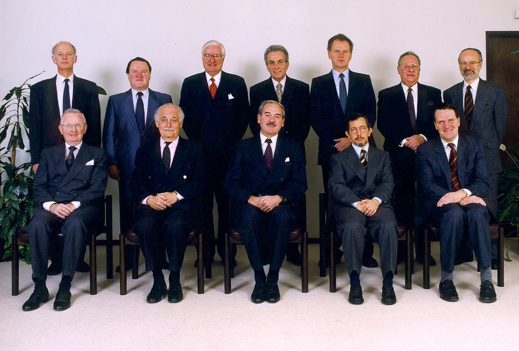 The Members from 1 January 1993 to 9 February 1994