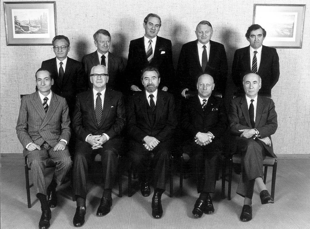 The Members from 18 October 1984 to 26 January 1986