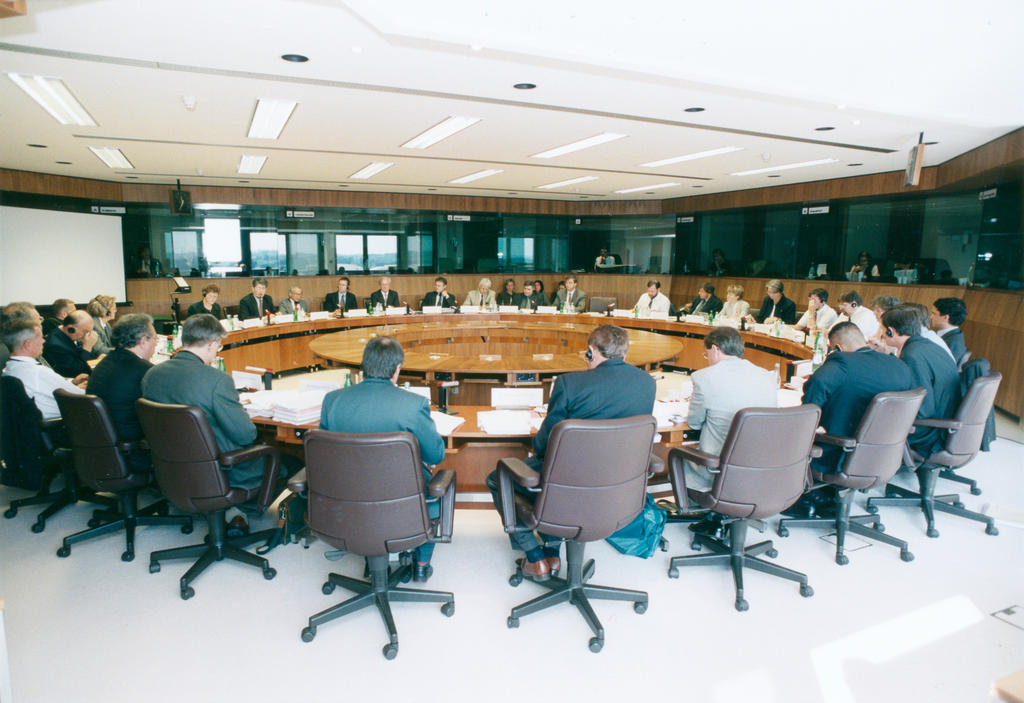 Courtroom of the European Court of Auditors