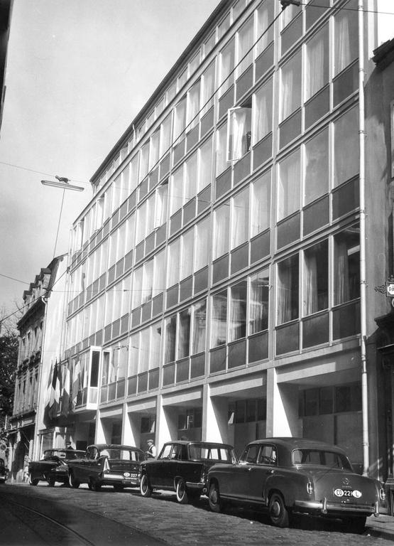 The Côte d'Eich building, seat of the Court from 1959 to 1972 (Luxembourg, 1959)