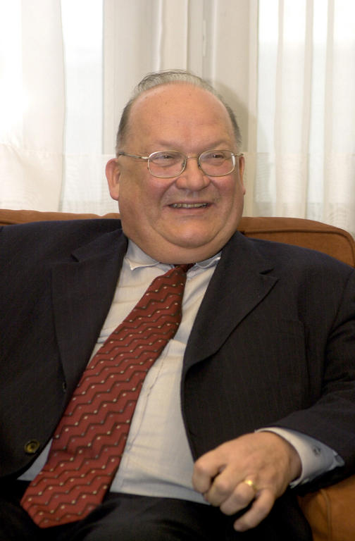 Jean-Luc Dehaene, Vice-President of the European Convention