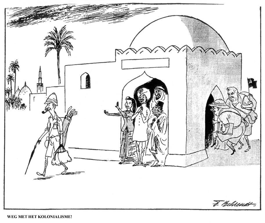 Cartoon By Behrendt On Decolonisation