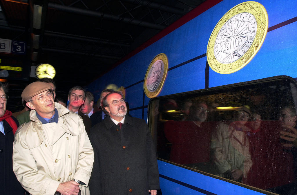 Inauguration of 'Thalys euro' (Brussels, 21 December 2001)