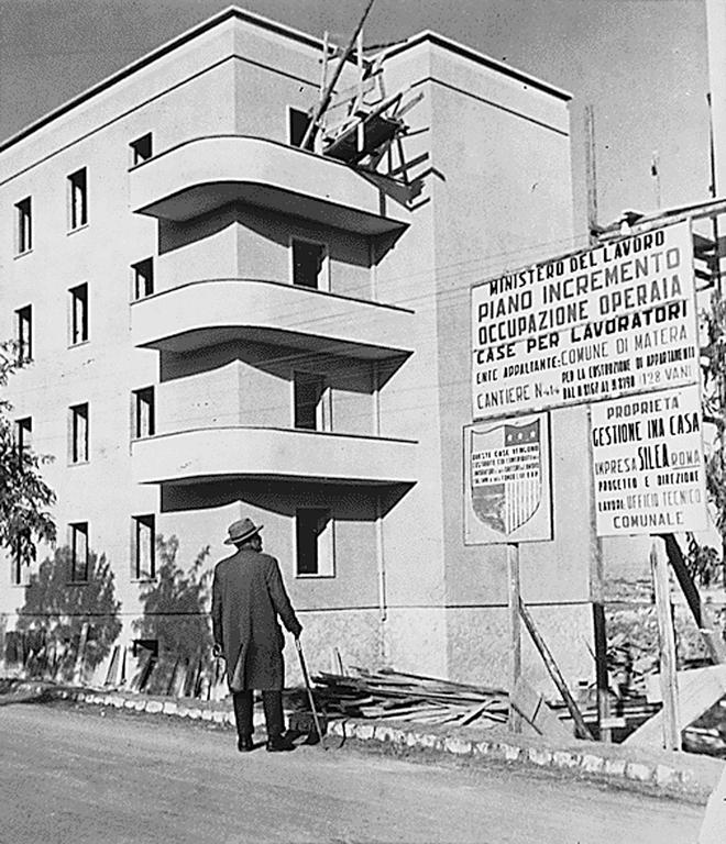 Marshall Plan: housing project in Italy (1948–1955)