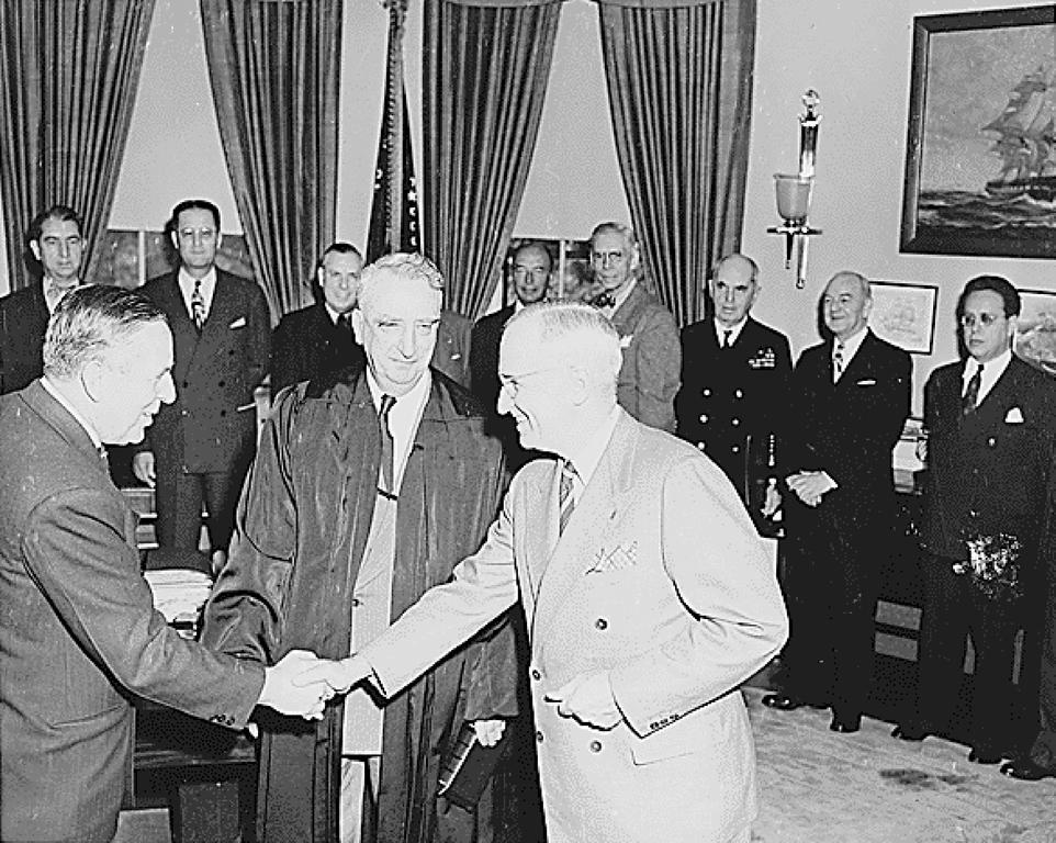 Appointment of Paul Hoffman (Washington, 9 April 1948)