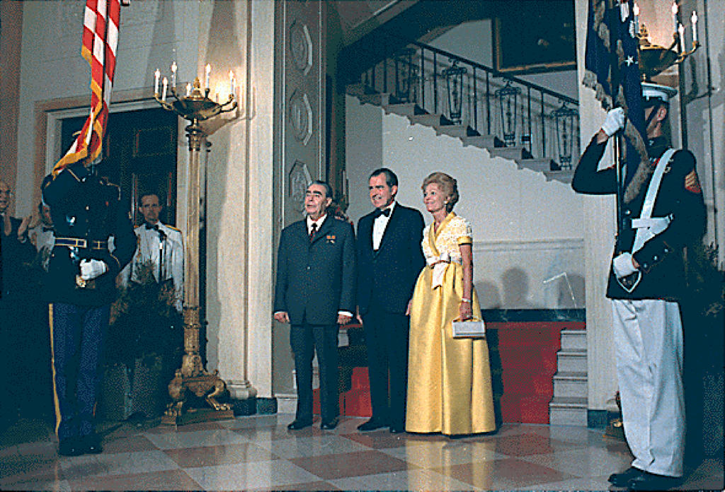 Official visit by Leonid Brezhnev to the United States (18 June 1973)