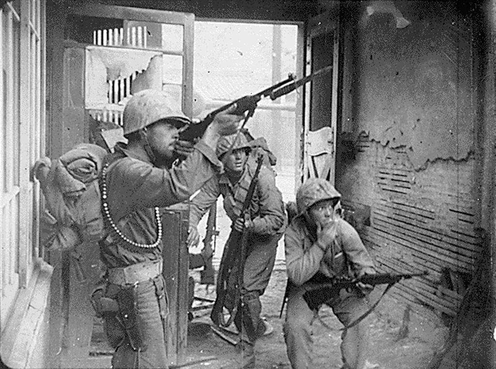 Fighting in the streets of Seoul (20 September 1950)