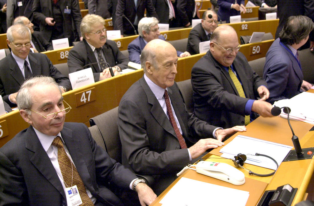 Opening session of the European Convention (Brussels, 28 February 2002)