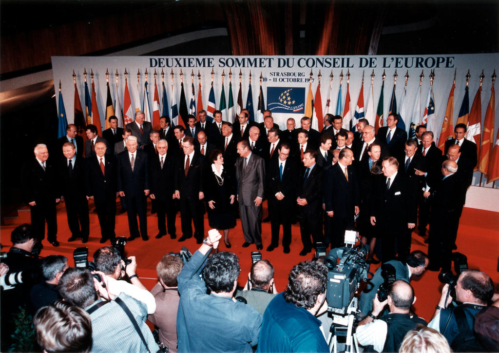 Second Council of Europe Summit (Strasbourg, 10 and 11 October 1997)