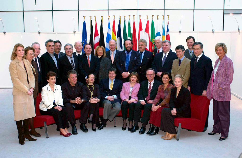 The European Parliament delegation to the European Convention (29 January 2002)