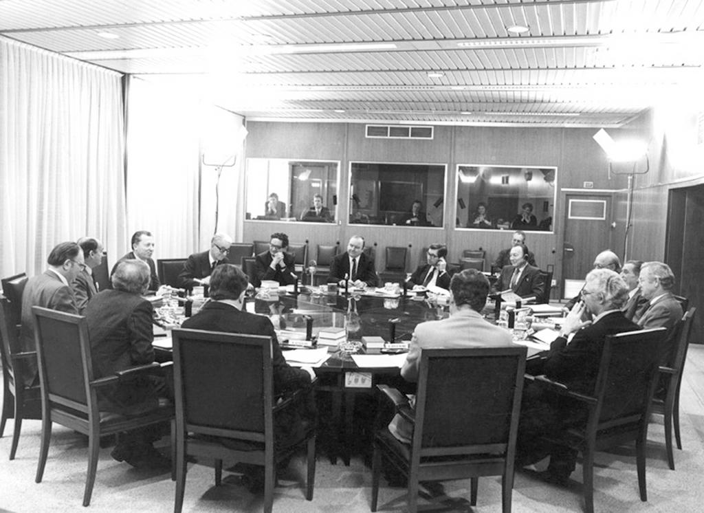 Meeting of the Delors Commission (7 January 1985)