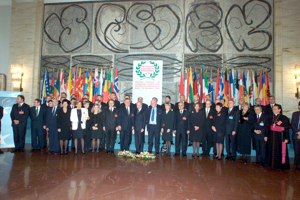 50th anniversary of the European Convention on Human Rights (Rome, 3–4 November 2000)