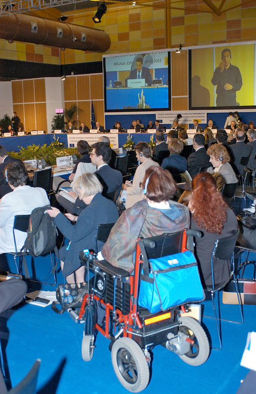 Ministerial conference on the integration of people with disabilities (Málaga, 7 May 2003)