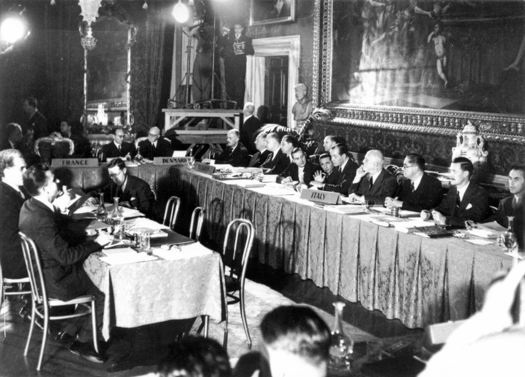 Signing of the European Convention on Human Rights (4 November 1950)