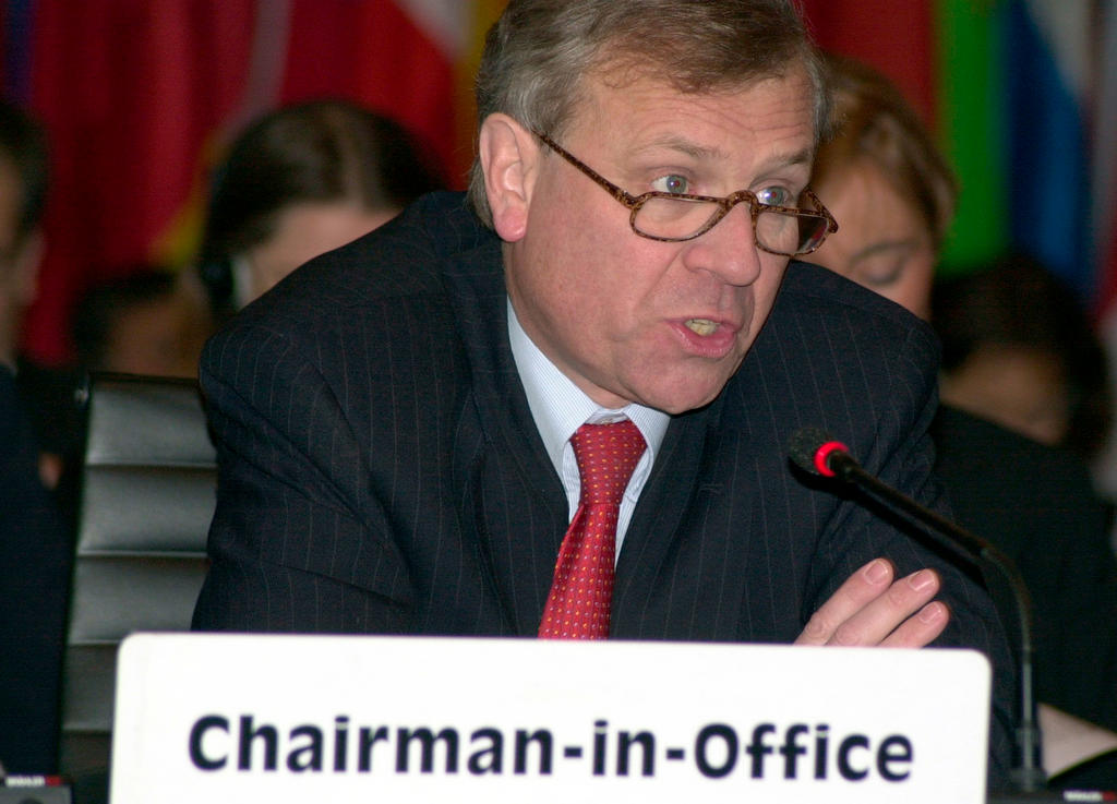 Jaap de Hoop Scheffer, OSCE Chairman-in-Office (2003)