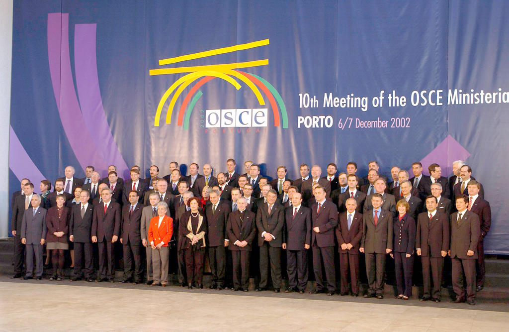 The OSCE Ministerial Council (Porto, 7 December 2002)