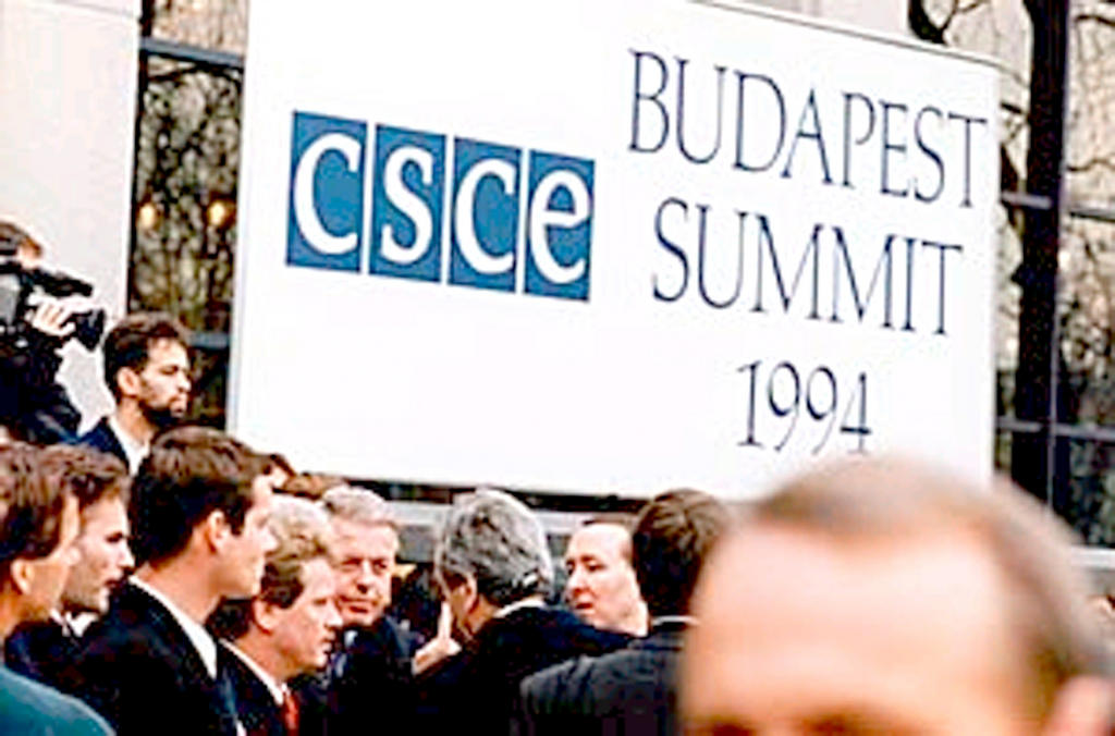 CSCE Summit in Budapest (5 and 6 December 1994)