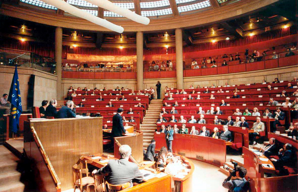 Hemicycle of the WEU Parliamentary Assembly (Paris)