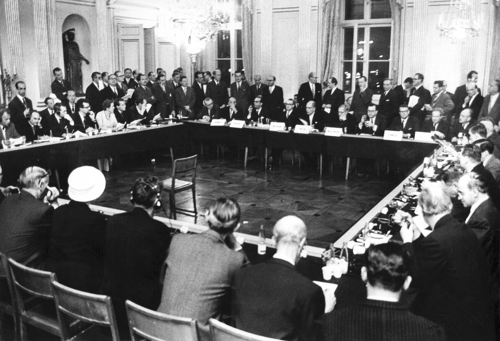 The EFTA Convention comes into force (Stockholm, 3 May 1960)