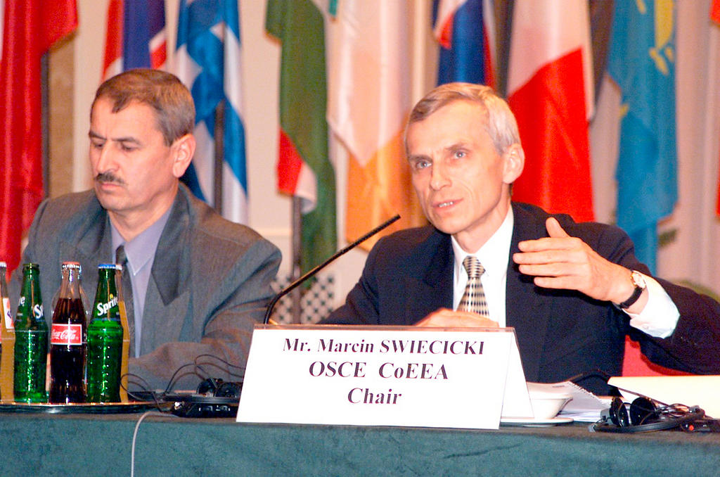 Marcin Swiecicki, Coordinator of OSCE Economic and Environmental Activities
