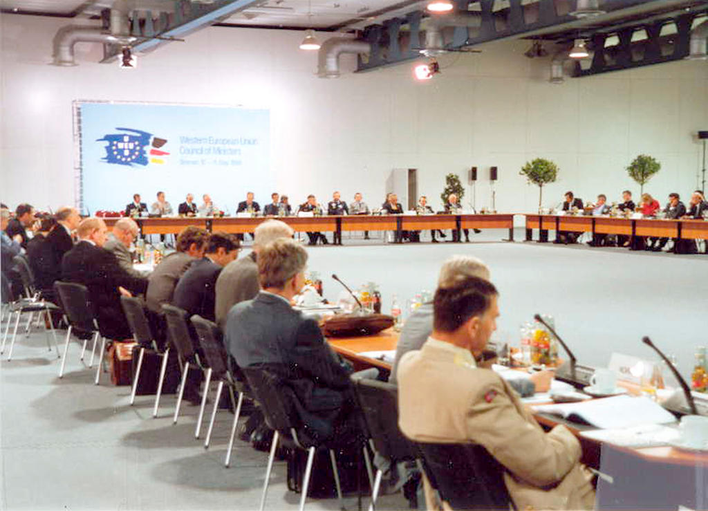 Meeting of the WEU Council of Ministers (Bremen, May 1999)