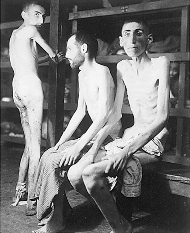 Buchenwald concentration camp (Germany, 16 April 1945)