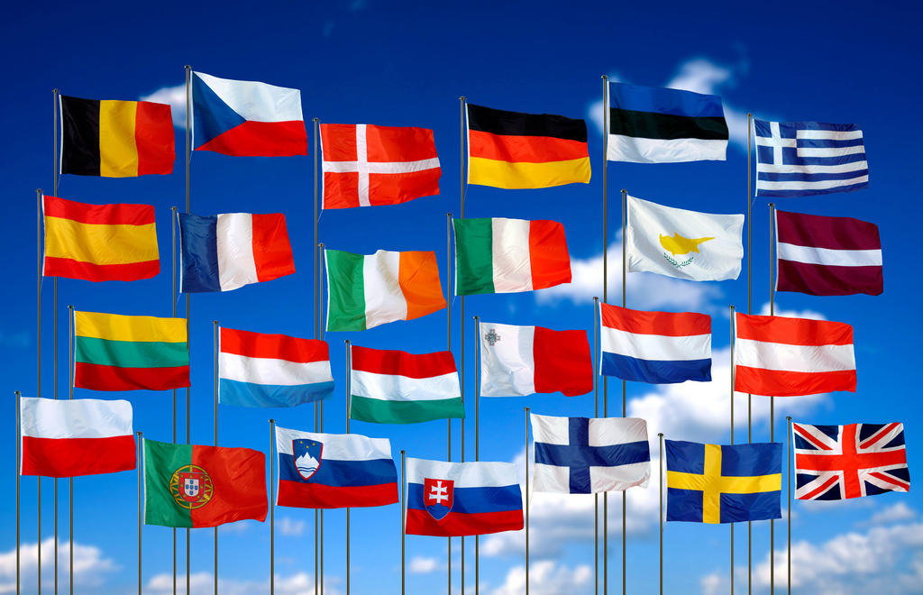 Flags of the Member States of the European Union (2004)