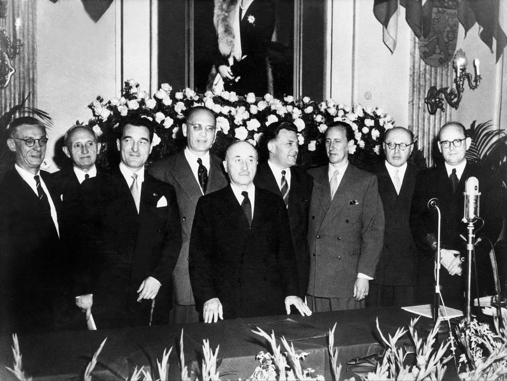 Inaugural session of the High Authority (Luxembourg, 10 August 1952)