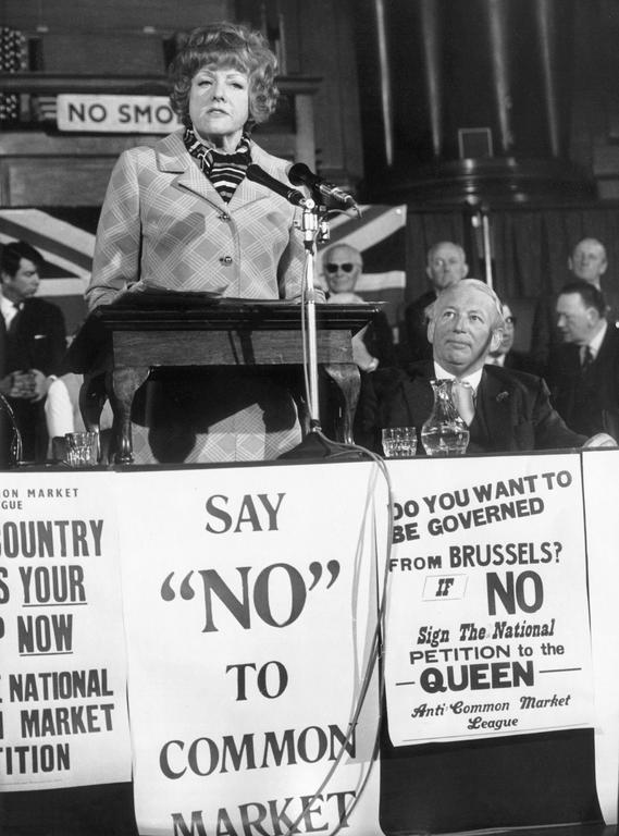 Address given by Renee Short against the European Common Market (London, 5 June 1971)