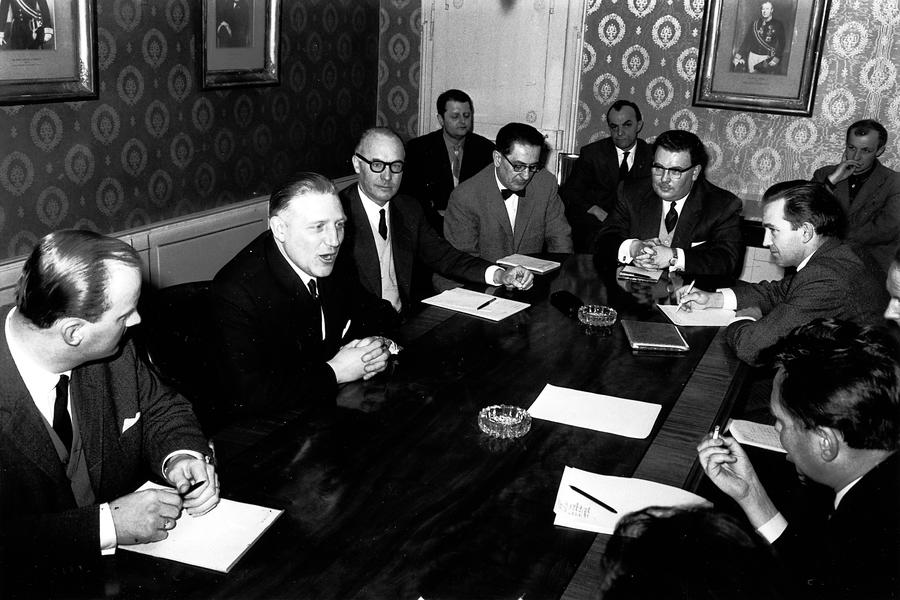 Press conference held by Pierre Werner (Luxembourg, 19 March 1963)