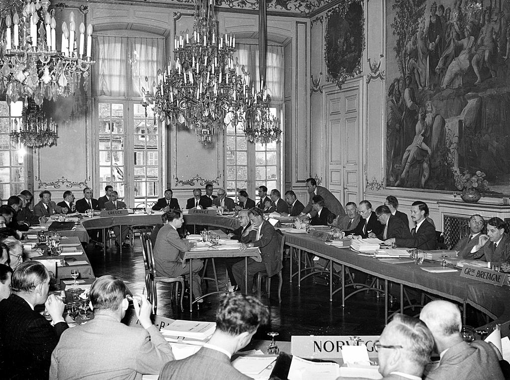 Inaugural session of the Committee of Ministers of the Council of Europe (August 1949)