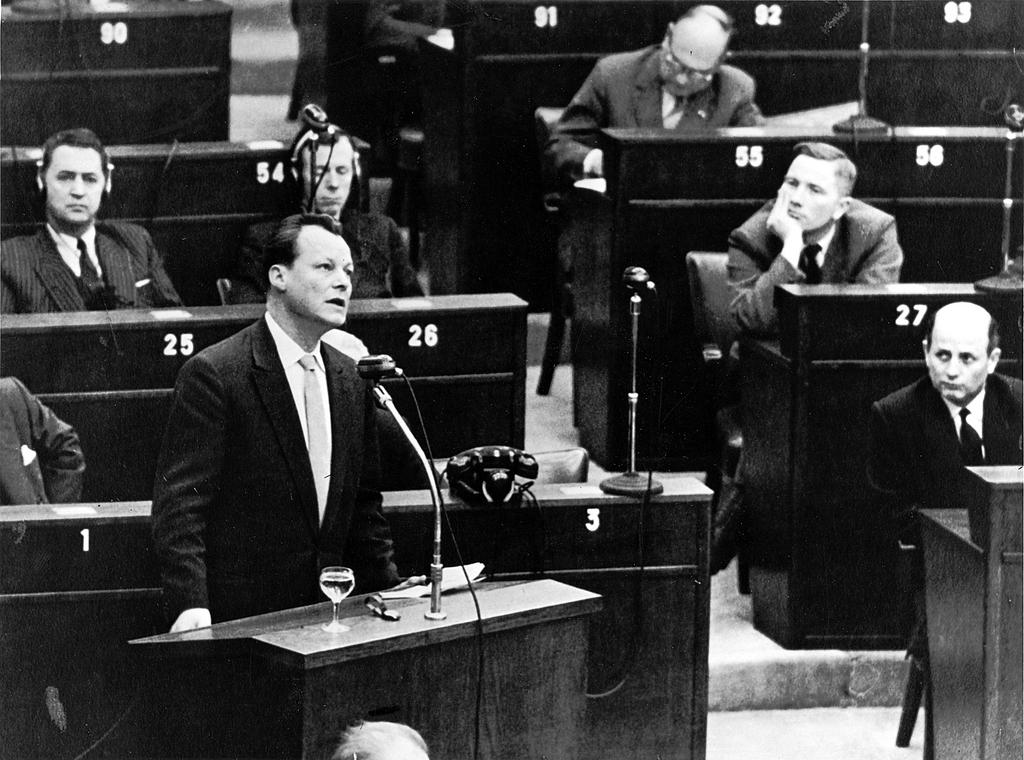 Statement made by Willy Brandt to the Consultative Assembly of the Council of Europe (Strasbourg, 19 January 1959)