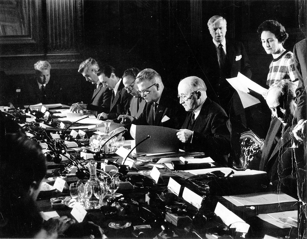 Meeting of the Action Committee for the United States of Europe (Paris, 6 and 7 May 1957)