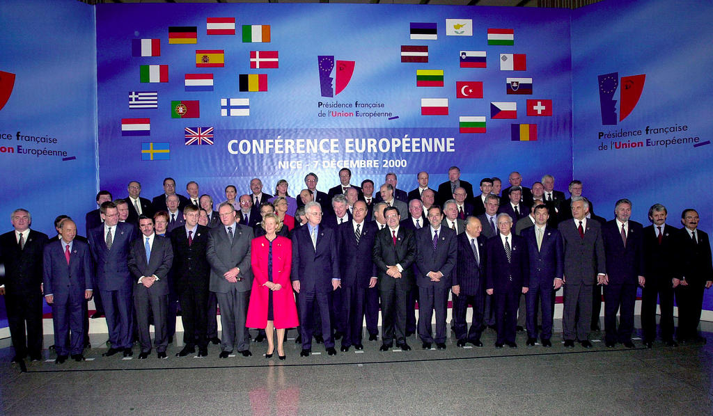 European Conference and European Council in Nice (Nice, 7–9 December 2000)