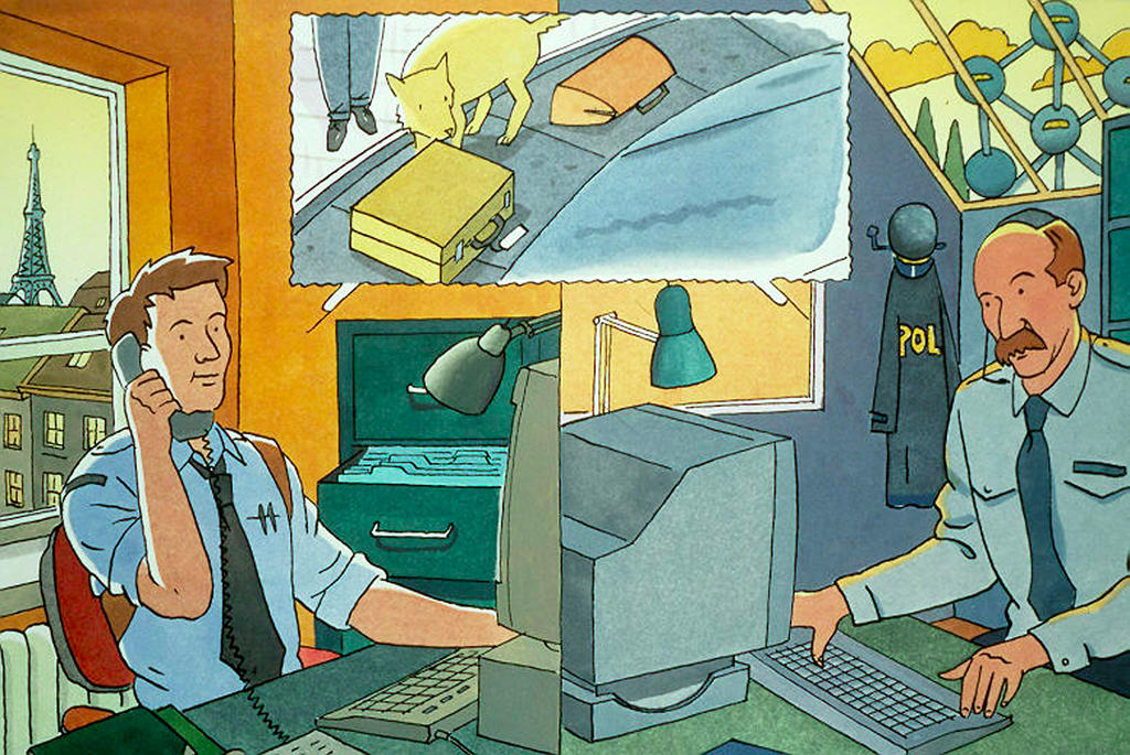 Illustration published by Europol