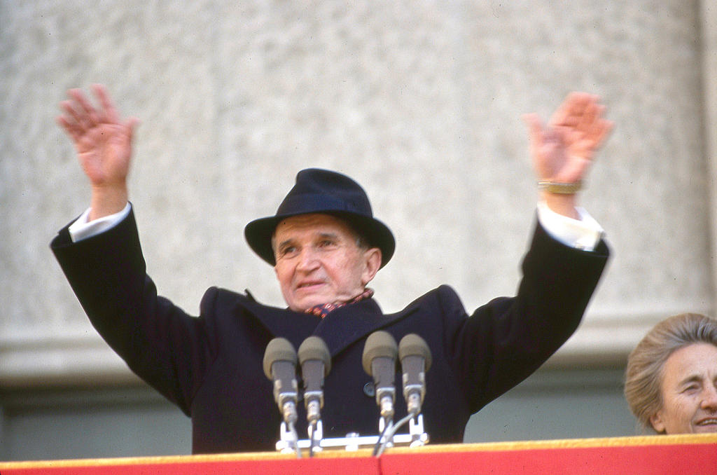 Nicolae Ceausescu (Bucharest, 24 November 1989)