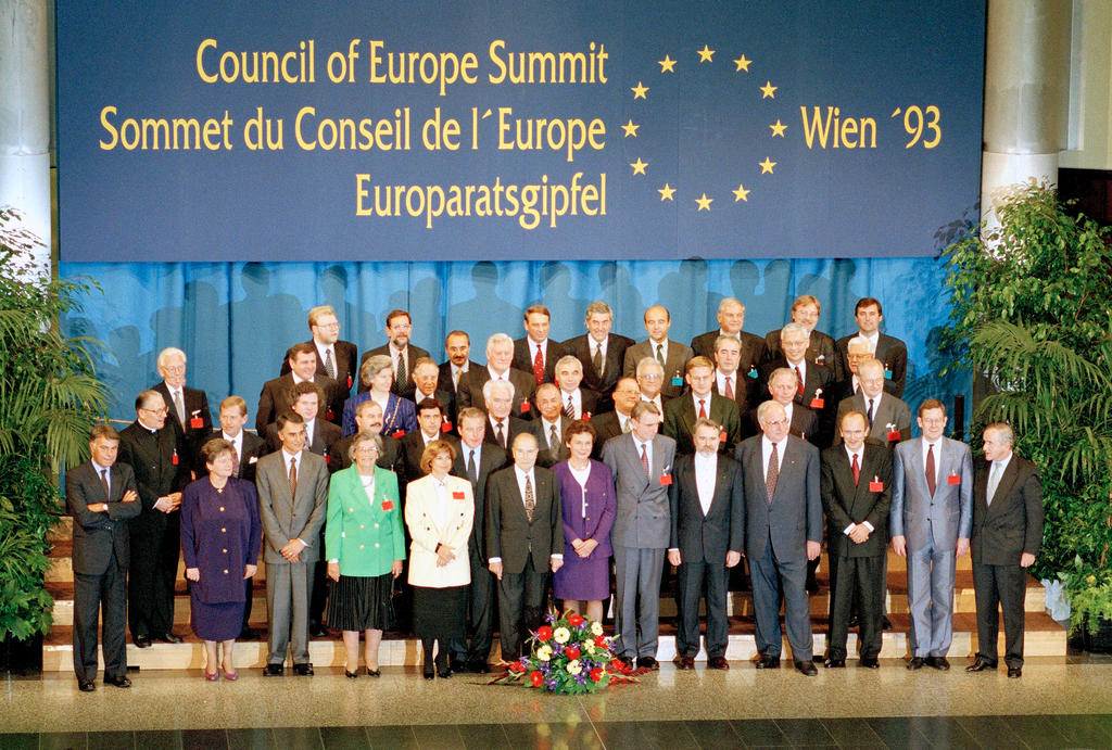 First summit of the Council of Europe (Vienna, 8 and 9 October 1993)